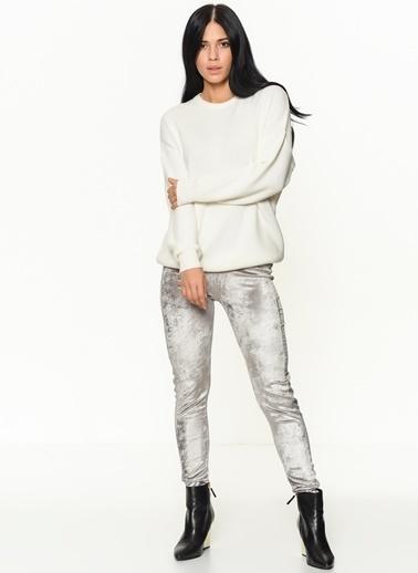 Braez Pantolon Gümüş